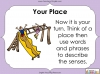Using the Senses (KS1 Poetry Unit) Teaching Resources (slide 45/59)